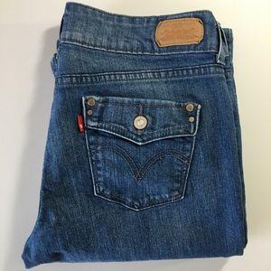 526 Levi's Slender Boot Jeans